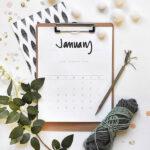 1-2020 FREE Hand Lettered Calendar