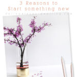1-3 Reasons to Start something new
