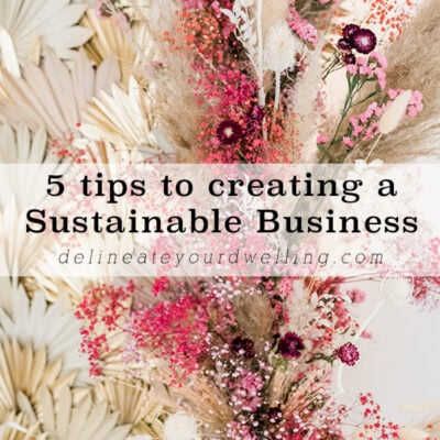 1-5 tips for Sustainable Business-talk