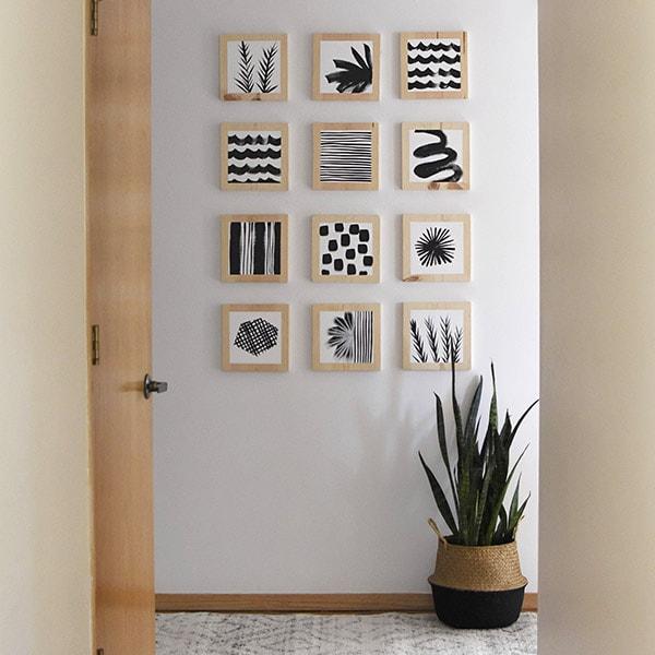1-Artistic Hallway Update