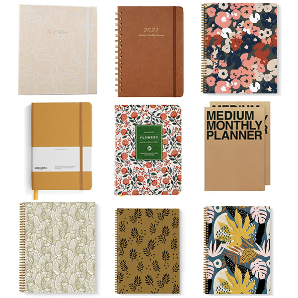All my favorite Planners.
