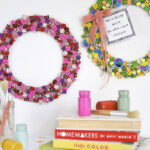 1-Back to School Eraser Wreath