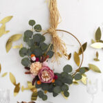1- Boho Thanksgiving Minimal Wreath