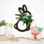 1-Bunny Grapevine Wreath