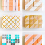 1-Colorful Painted Geometric Blocks