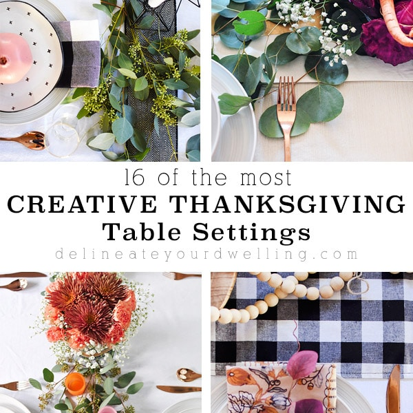 The Most Creative Thanksgiving Table Settings