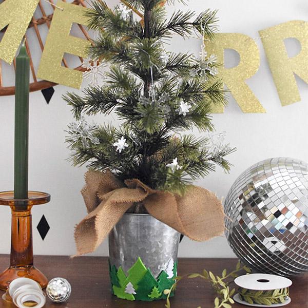 DIY Tabletop Christmas Tree, 3 Ways