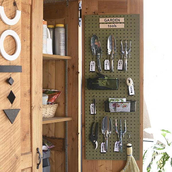 1-Garden Tools Pegboard