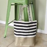 1-Inspired Stripe West Elm bag