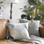 1-Leather Tassel Pillow