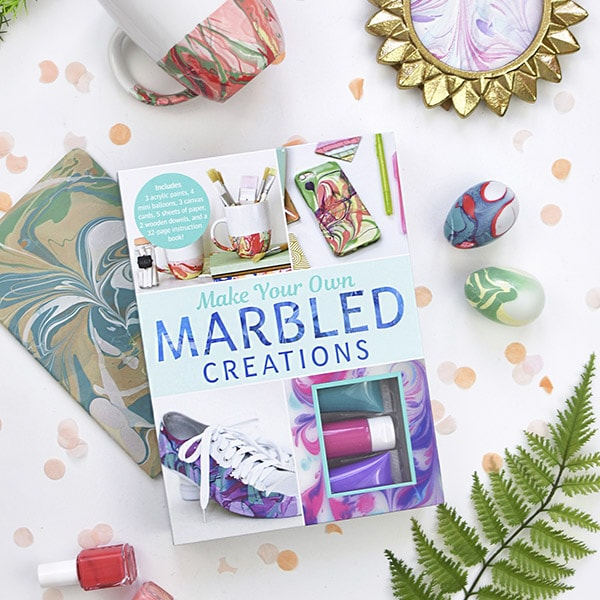 My Marbling Book is NOW available!