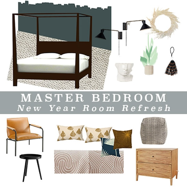 Master Bedroom Refresh Plan