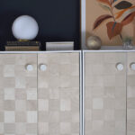 1-Office Woven Wooden Cabinet
