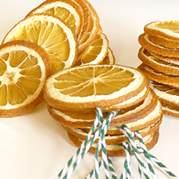 How to dry Orange Slices for decoration