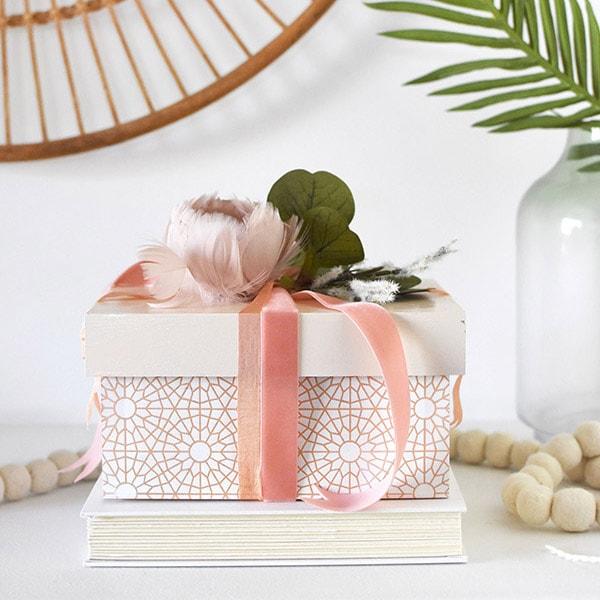 Pattern Painted Box