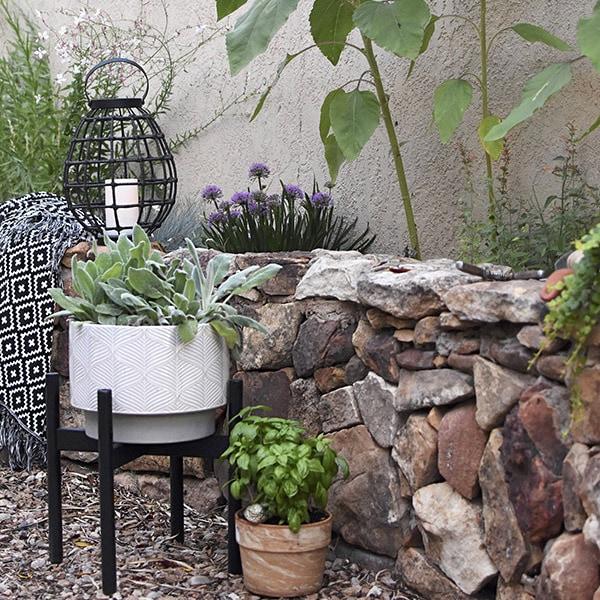 Simple Outdoor Stone Wall Repair