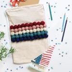 1-Summer Pom Pom Bag