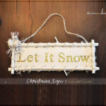 1-let it snow sign