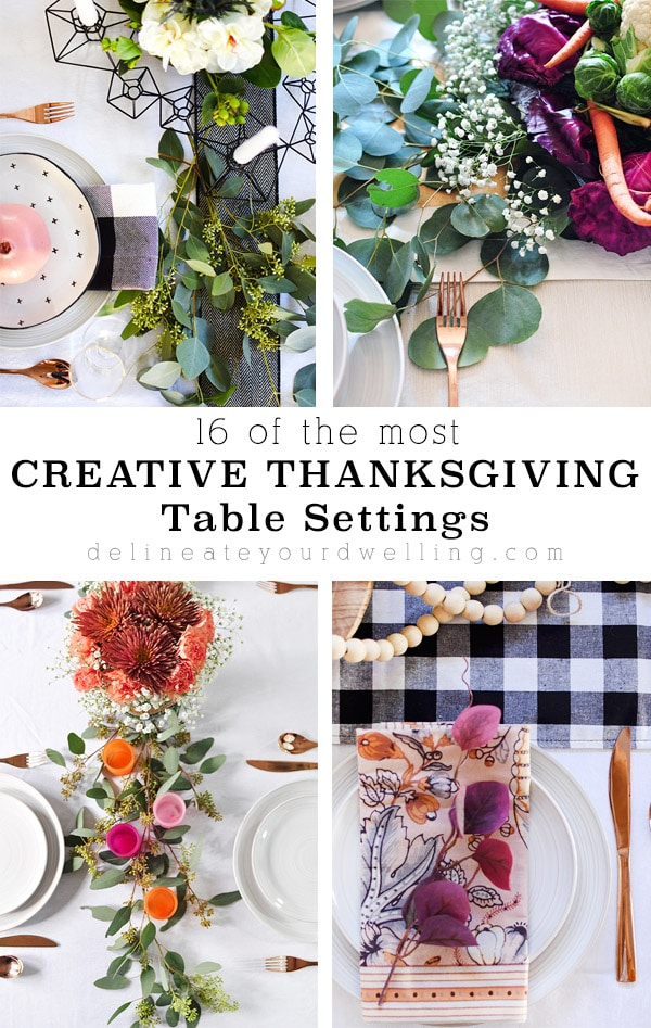 16 Creative Thanksgiving Table Settings