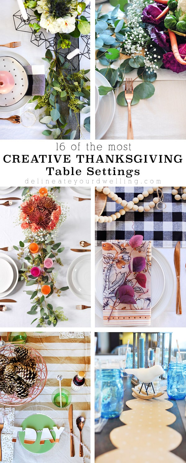 16 Creative Thanksgiving Tables
