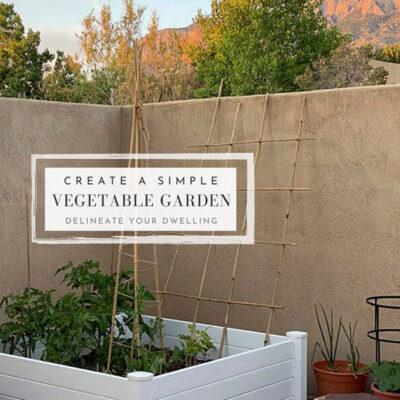 1a-Raised Vegetable Garden