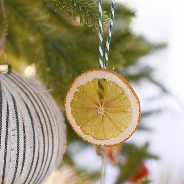 How to dry Orange Slices for decoration