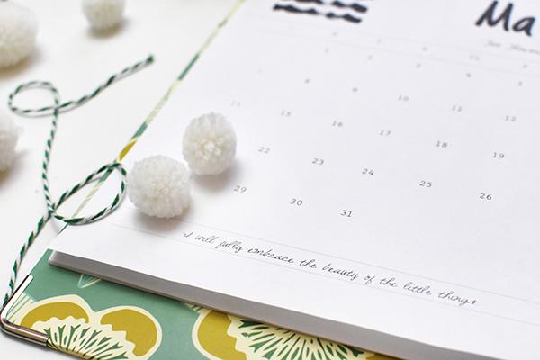 Free 2021 Printable Calendar detail