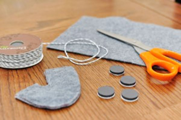 Sewing a simple Easy Fishing Game for your children. Delineate Your Dwelling