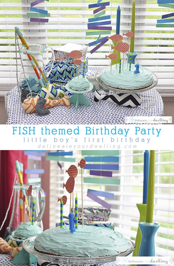 Fun Fish Themed Birthday Party, Delineate your dwelling
