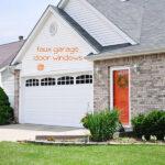 1 Faux Garage Door Windows