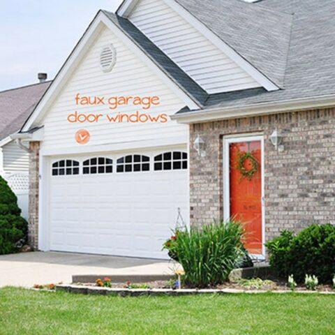 How to install Faux Garage Door Windows