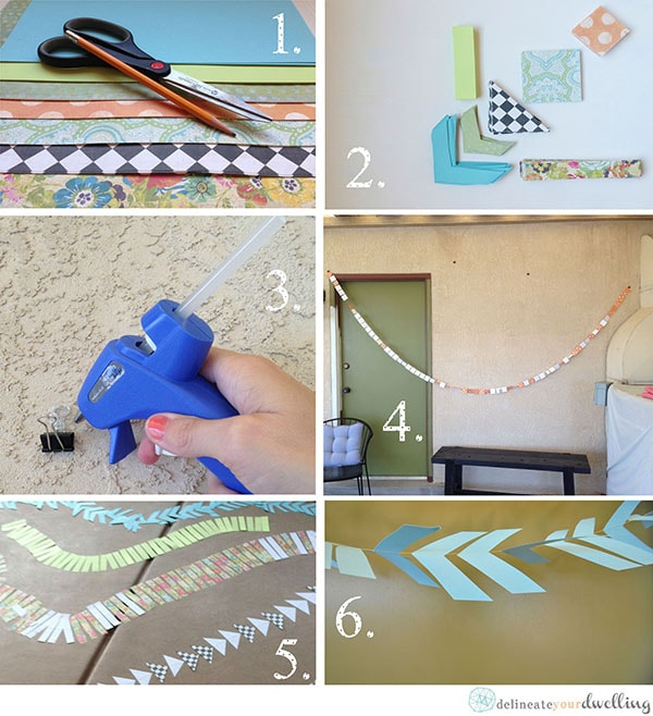 See the step by step progression of taking a dull unused space and making it usable and fun with a simple Sun Room Redo project! Delineate Your Dwelling