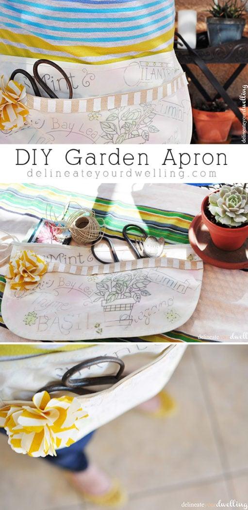 DIY Garden Apron final, Delineateyourdwelling.com