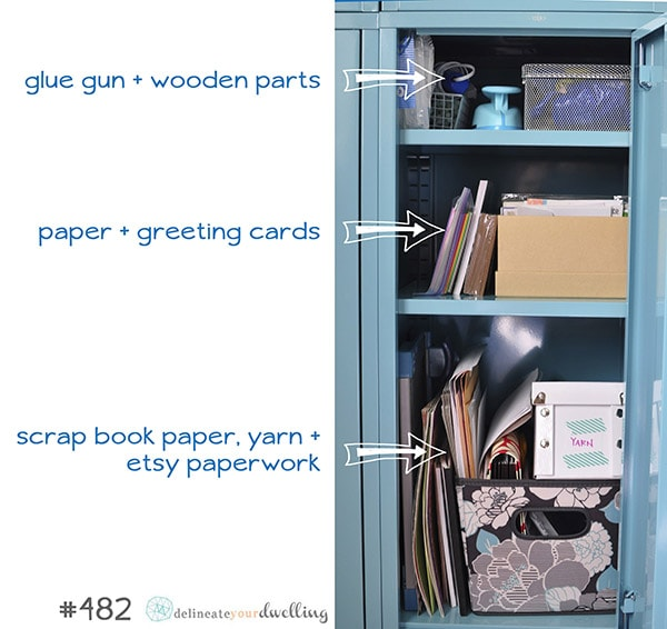 Ikea Locker organize