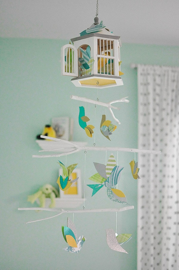 Nursery Tour bird house