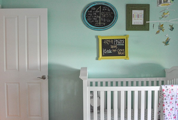 Nursery Tour crib