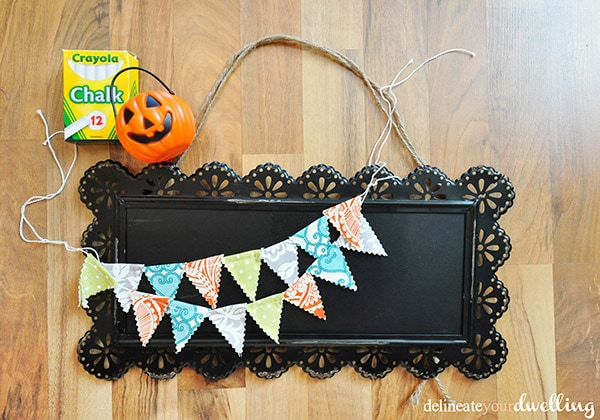 halloween door sign supplies