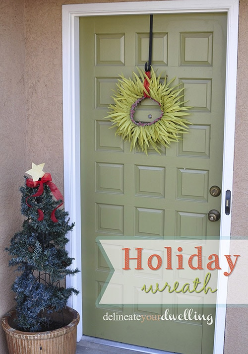 Christmas wreath, Delineateyourdwelling.com