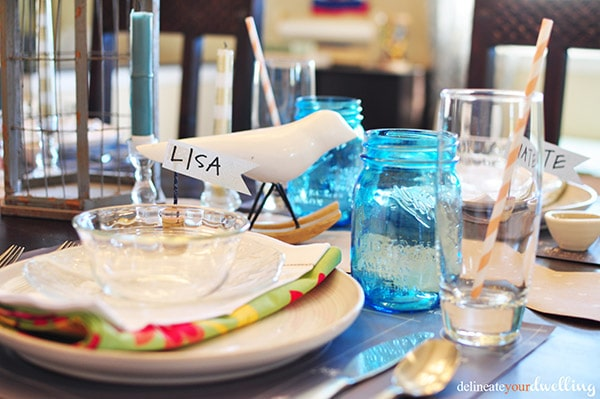 thanksgiving table decor, Delineate Your Dwelling
