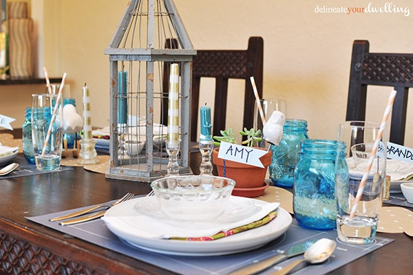 thanksgiving table, Delineate Your Dwelling