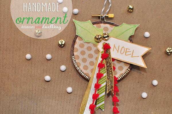 Embroidery Hoop Handmade Ornament