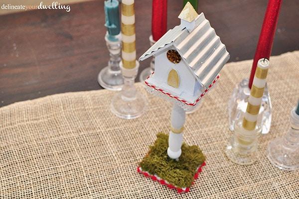 Christmas Birdhouse, Delineateyourdwelling.com