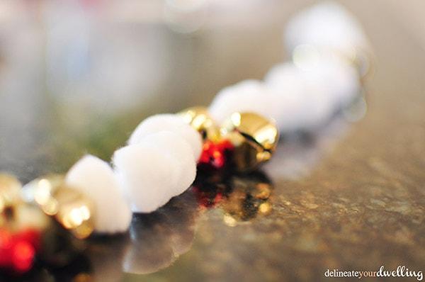 Christmas Clipboard garland