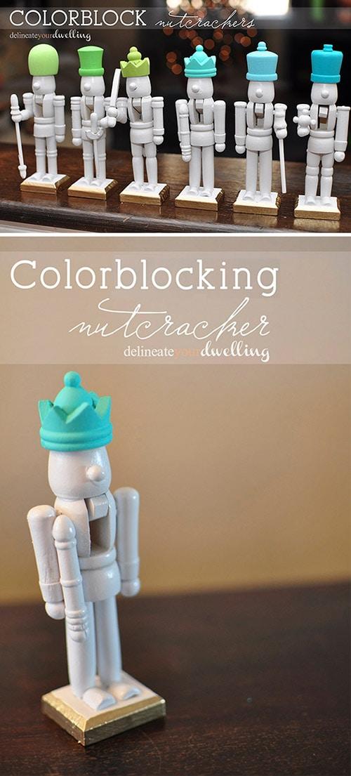 Colorblock Nutcrackers, Delineateyourdwelling.com