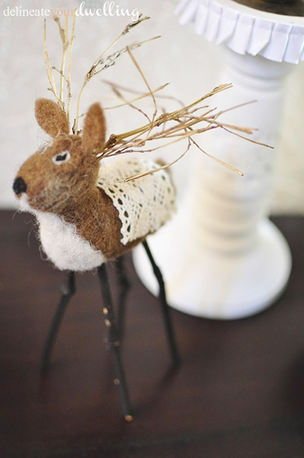 Holiday Decor Deer