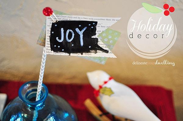 Holiday Decor Joy