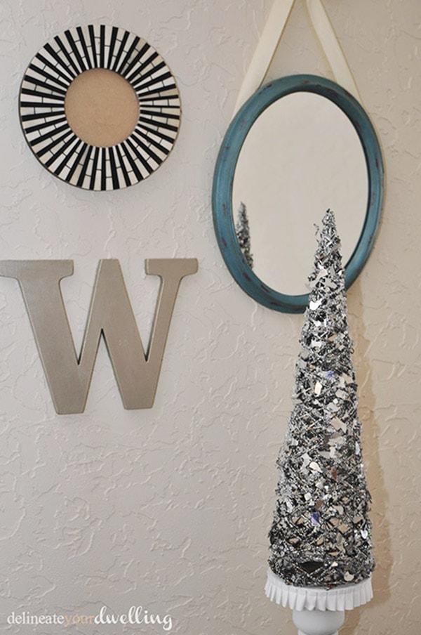 Holiday Decor Silver Tree