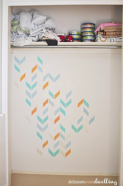 Kid's Shared Closet paint done, Delineateyourdwelling.com