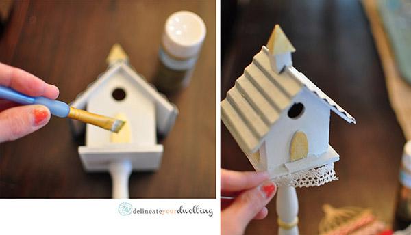 Winter Birdhouse details, Delineateyourdwelling.com