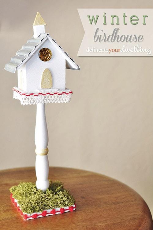 Winter Birdhouse, Delineateyourdwelling.com
